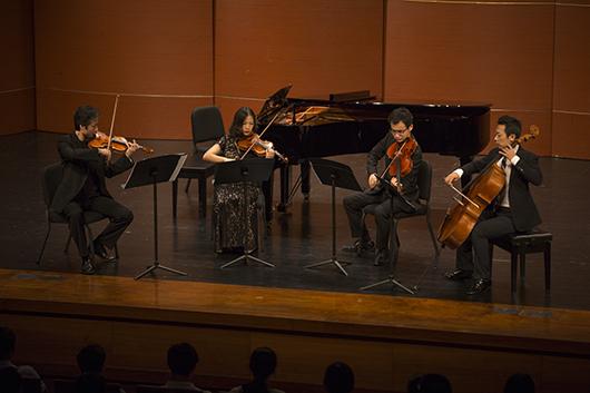 幕的经典 国交弦乐四重奏组海顿作品音乐会精彩上演 -清华大学艺术